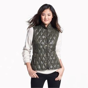 Michael Kors Green Lightweight Down Vest - Size M